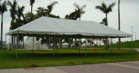 Party Tent 10 X 40 Canopy - White