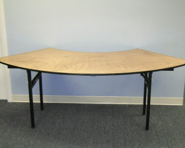 60 inch Serpentine Table