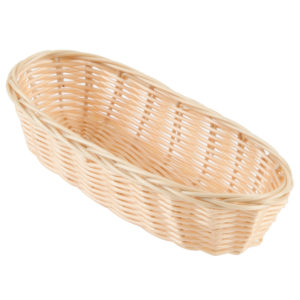 Bread Basket - Oblong Natural-Colored