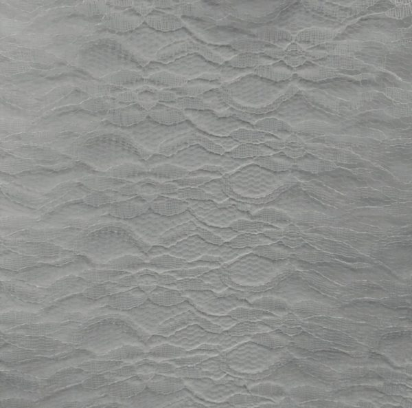 Lace Overlay Ivory - 90 inch Round