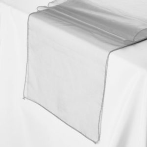 Organza Table Runner (12 inch X 120 inch)