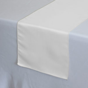 $1.50 Select Options · Satin Table Runner (12 Inch X 120 Inch)