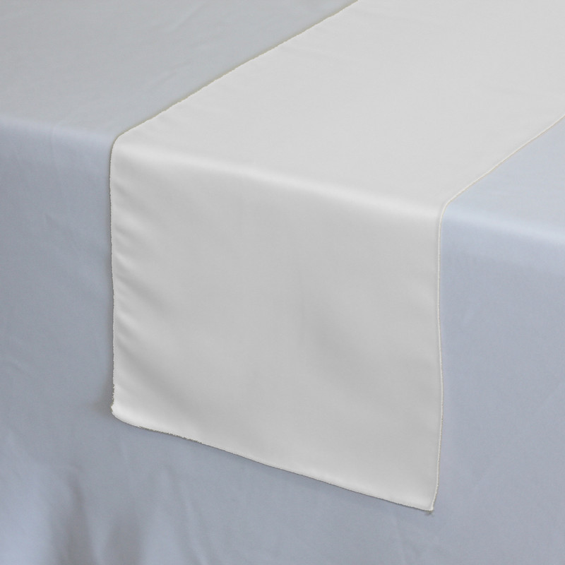 satin table runner 12 inch x 120 inch party rental