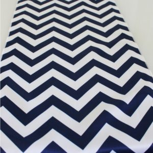 Chevron Table Runners - Satin