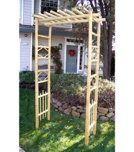 Elegant Bamboo Arch