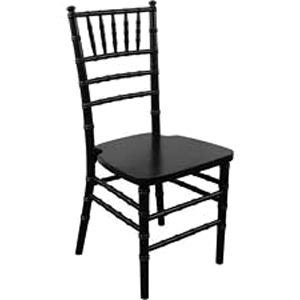 Chiavari Chair - Black-Color Wood