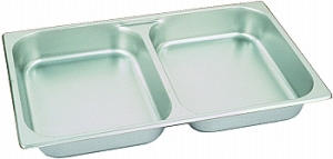 Additional Dual Compartment Chafing Tray - Rectangular (8 qt. )