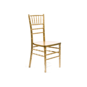 Chiavari Chair - Gold-Color Wood