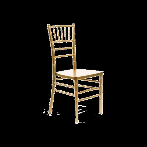 Chiavari Chair - Gold-Color Wood