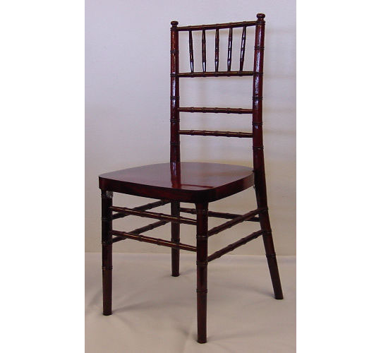 Chiavari Chair - Mohagany-Color Wood