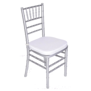 Chiavari Chair - Silver-Color Wood