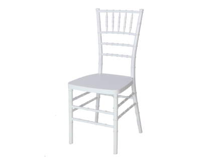 Chiavari Chair - White-Color Wood