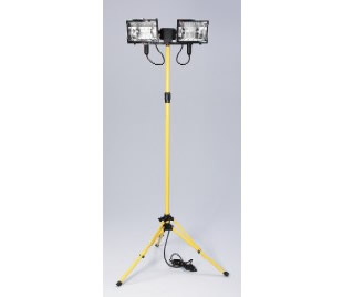 Flood light (quartz halogen, 2 head, 2ft to 5ft)
