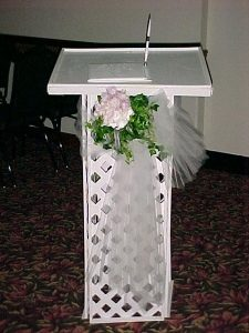 Guestbook Stand