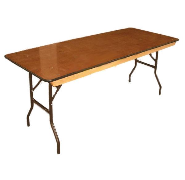 "Banquet Table (6'X30"", folding)"