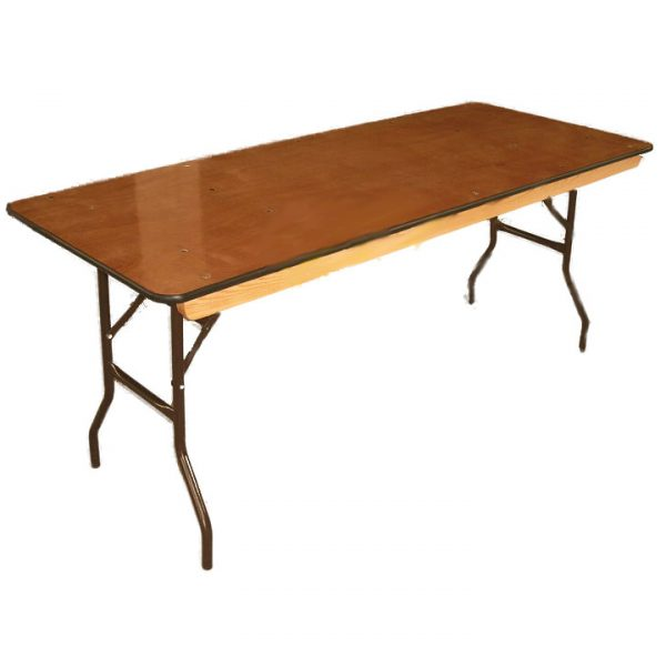 "Banquet Table (6'X30"", folding)"