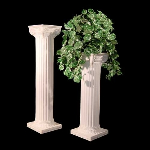 Pillar (Column) - White (30 in.)
