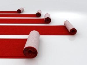 Red Carpet - 25 ft