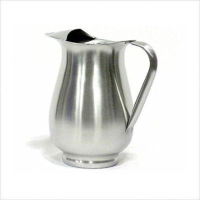 Stainless Steel Pitcher with Ice Guard
